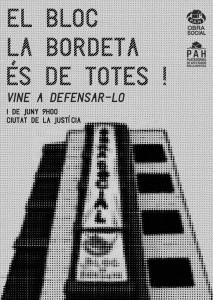#BlocLaBordeta belongs to all of us!