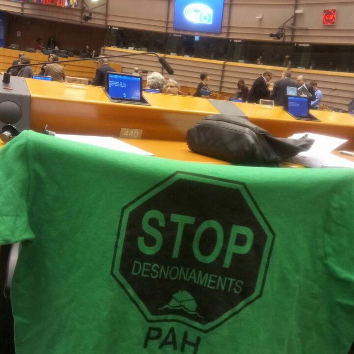 NEVER HAS A LAW PROPOSAL HAD SO MUCH SUPPORT AS PAH'S HOUSING LAW (LEY VIVIENDA PAH)