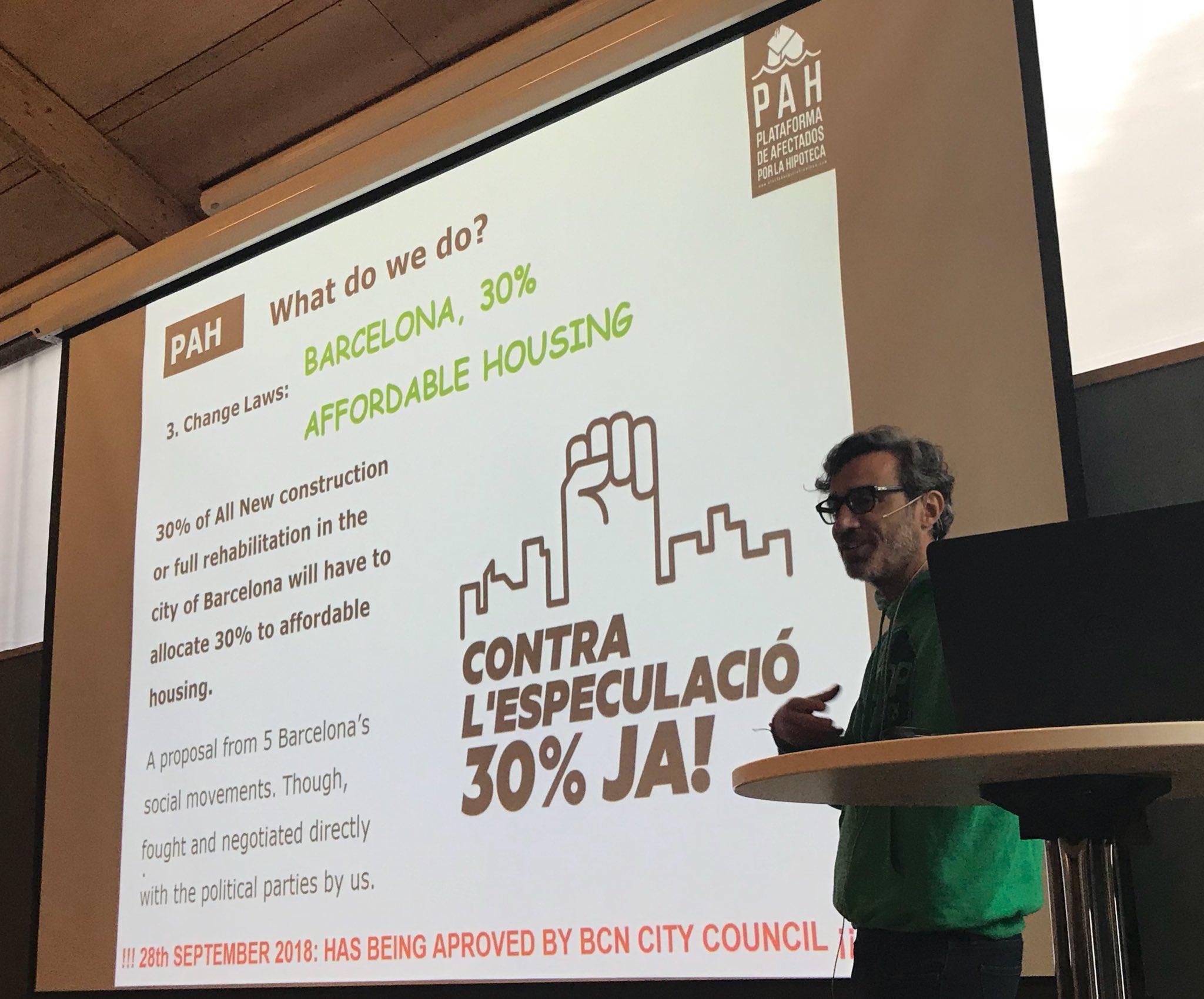 «Urban exclusion versus inclusion: the global challenges of housing eviction» / «Exclusión urbana versus inclusión: los desafíos globales del desalojo de viviendas»  Oslo