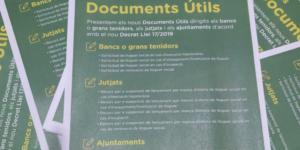 Presentamos nuevos Documentos Útiles contra la emergencia habitacional en Cataluña