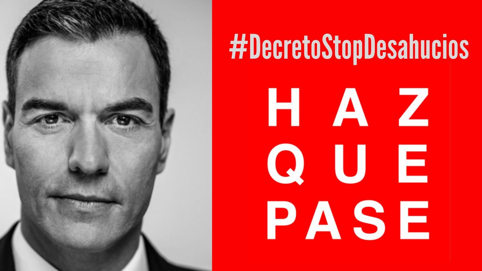 Siguen los desahucios mientras el Gobierno de Pedro Sánchez estudia cómo rescatar de nuevo a la banca, fondos buitre y grandes propietarios